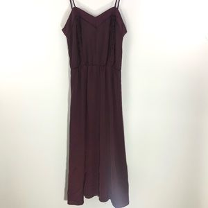 H&M • Burgundy Maxi Dress